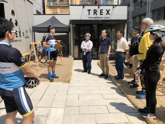 0422_ミニサイクリングツアー TREX TORANOMON CAFE_005